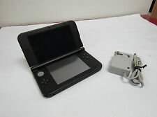 Nintendo 3DS XL Handheld Game Console Black w/ Charger Bundle Tested Works