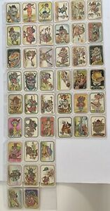 44 Rare Baseball Super Freaks Series Stickers Complete set- Donruss (TAP)
