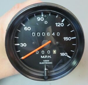 1976-89 Porsche 911 930 180MPH Speedometer - 911 641 534 00 - Dated 1/83