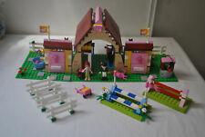 LEGO FRIENDS 3189 LES ECURIES DE HEARTLAKE CITY - COMPLET AVEC NOTICES