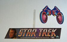 Star Trek Captain Kirk 1985 Paramount In-Store Home Video Promo Mobile cLEAn NM