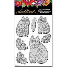 Stampendous Laurel Burch aggrapparsi Stamp con Modello-Indaco Gatti lbcrs 02