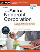 NOLO How To Form A Nonprofit Corporation by Anthony Mancuso