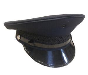 NEW Keystone Round Top MeshBraid Police Cap Hat Uniform Hat Cap YOU CHOOSE SIZE