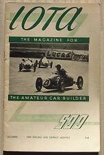 IOTA 500 CLUB RACING Car Magazine Dec 1948