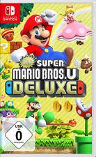 New Super Mario Bros.U Deluxe SWITCH NEU