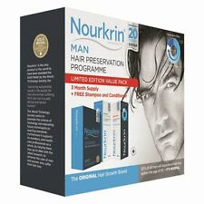 Nourkrin Man Value Pack - 180 Tablets, Shampoo & Conditioner