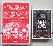 Vampire Knight playing cards deck promo official Matsuri Hino anime trump poker