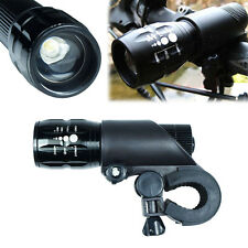 240 Lumens LED Flashlight with bike mount - Cycling Front Head Light