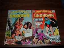 Challengers of the Unknown 31-81-lot of 18 comic books