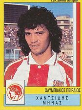 N°235 MINAS HANTZIDIS OLYMPIAKOS GREECE PANINI GREEK LEAGUE FOOT 95 STICKER 1995
