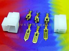 Kabelschuhe KIT 3 polig/way Flat plug / Flachstecker KIT + Gehäuse / Case  #A431