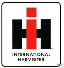 INTERNATIONAL HARVESTER  SMALL VINYL STICKER (B090)