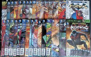 Nightwing #0-30 2011 DC Comics Batman Robin Grayson 1st app Saiko & Spinebender