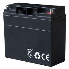 Akku / Batterie 2 x 12 V / 18 Ah AGM Blockbatterie Long-Life für Numatic TTB1840