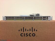 Cisco Catalyst 4948 WS-C4948E-F-E 48 Port L3 Gigabit Switch 15.2 OS Dual AC