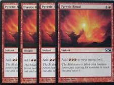 XXX 4x PYRETIC RITUAL englisch magic 2011 M11 (red) NEARMINT XXX XXX XXX XXX XXX