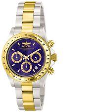 Invicta Men's 3644 Speedway Quartz Chronograph Blue Dial Watch