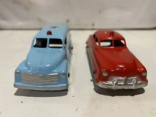 Old Toy tootsietoy ambulance & Fire Chief Car  Not Truck