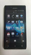 SONY Xperia J ST26I - Black Smartphone - 3 Network. Grade *A* Fully Work