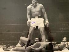 Cassius Clay Signed Autographed 16x20 Photo Sonny Liston  PSA ITP 5A41498