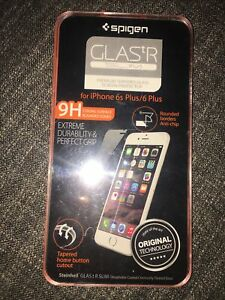 Spigen Glastr SLIM Tempered Glass Screen Protector 9H for IPhone 6s Plus 6 Plus