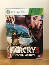 Far Cry 3 Insane Edition Xbox 360 New Mint Limited Collectors
