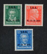 CKStamps: Germany Stamps Collection Scott#363-365 Mint H OG