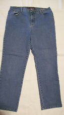 Gloria Vanderbilt Blue Denim Jeans Amanda size 12P short
