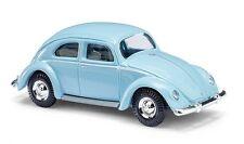 Busch H0, 42711 VW Escarabajo con Ventana Pretzel, Azul, Modelo de Coche 1:87