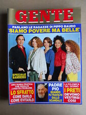 GENTE n°6 1984 Speciale Sanremo Pippo Baudo Moser Elisabetta Gardini [G739]