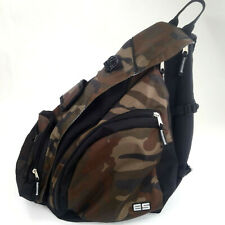 Sling Messenger Cross Body Backpack Camo Everyday School Hiking Bug Out Go