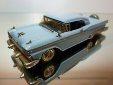 WESTERN MODELS 46 FORD GALAXIE SKYLINER 1959 - BLUE/GREY 1:43 - EXCELLENT - 7