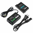 Battery Pack + Home Wall Travel Charger AC Adapter for Sony PSP 2000 3000 Slim