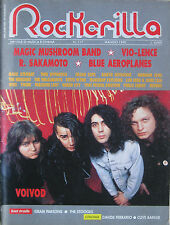 ROCKERILLA 117 1990 Voivod Vio-lence Magic Mushroom Blue Aeroplanes Sakamoto NWA