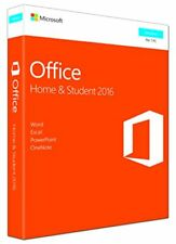 Microsoft Office 2016 Home & Student Windows retail (1 Licenza Perpetua)