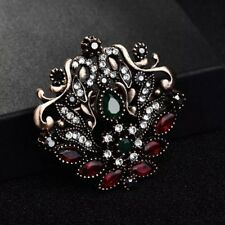 Scarves Pin Vintage Ramadan Eid Gift Women Turkish Brooch Islamic Pendant Hijab