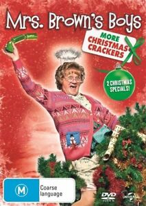 """Mrs. Brown's Boys - More Christmas Crackers (DVD) Region 4 """"NEW AND SEALED"""""""