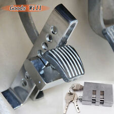 C03 Brake Pedal Lock Security For Car Auto S.S Clutch Lock Anti-theft Novel