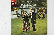 Lieder von Schubert Wolf und Strauss Helen Donath Klaus Donath (LP22)