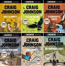 Walt Longmire Mysteries Series Collection Set Books 7-12 by Craig Johnson