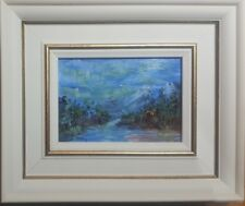 Original Mendoza Contemporary Landscape scenery art painting Framed