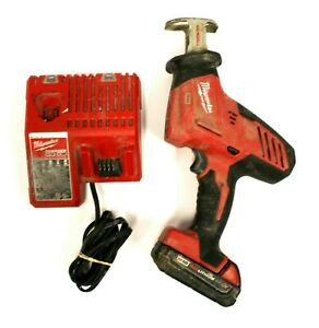Milwaukee 2625-20 M18 18V Cordless Hackzall w/ Battery & Charger