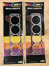 VINTAGE mr Gasket 289 302 SBF Small Block Ford Super Head Gaskets Two Pairs NOS
