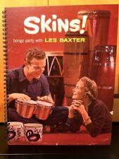 For the Les Baxter, Skins! Bongo Party fan ! Album Cover Notebook vintage Rare