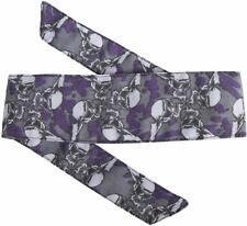 Hk Army Headband Hostilewear Paintball Head Band Tie Skulls Purple