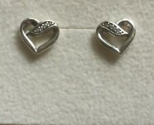 Pandora Ribbons of Love Clear CZ Earrings 290736CZ Valentines Gift.