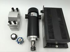 450W ER11 Spindle Motor DC 12000rpm & Mach3 Power Supply & Mount Bracket CNC Kit