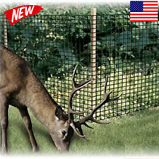 Garden Fence Landscape Deer Fencing Animal Protects Strong Netting 7x100 Borders