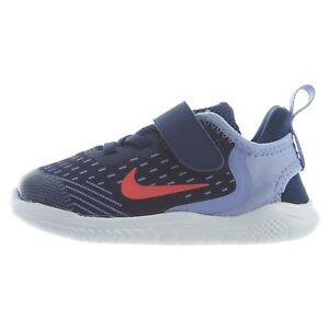 Nike FREE RN 2018 TD Toddler Shoes AH3456 404 SZ 6-10 Blue Void/Flash Crimson